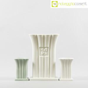 Alessi, vaso e portacandela in ceramica, Michael Graves (2)
