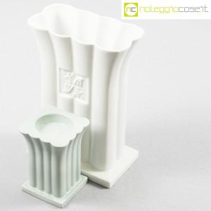 Alessi, vaso e portacandela in ceramica, Michael Graves (4)