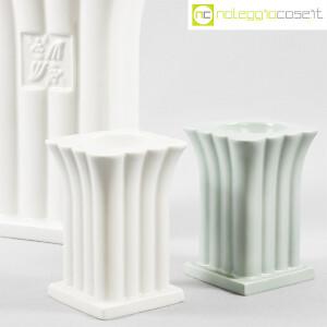 Alessi, vaso e portacandela in ceramica, Michael Graves (6)