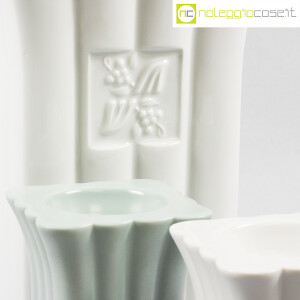 Alessi, vaso e portacandela in ceramica, Michael Graves (7)