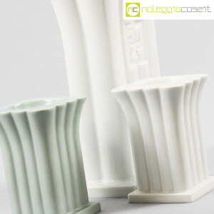 Alessi, vaso e portacandela in ceramica, Michael Graves (8)