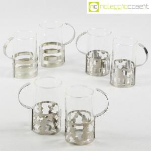 Bodum, set tazze in metallo e vetro, George Sowden (1)