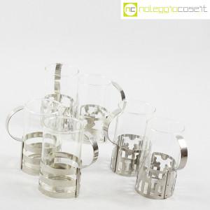Bodum, set tazze in metallo e vetro, George Sowden (3)
