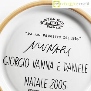 Bruno Munari, piatto con decoro Negativo Positivo (9)