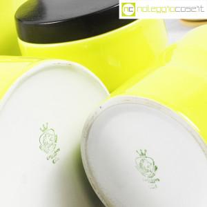 Ceramiche Franco Pozzi, set barattoli giallo-verde con tappo, Ambrogio Pozzi (9)