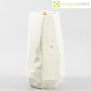 Danese Milano, vaso in ceramica bianco, Franco Meneguzzo (1)