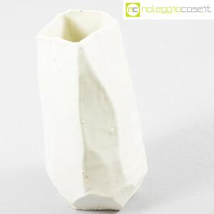 Danese Milano, vaso in ceramica bianco, Franco Meneguzzo (4)