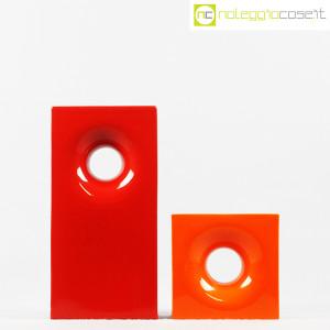 Gabbianelli, coppia vasi colorati con foro, Franco Bettonica (2)