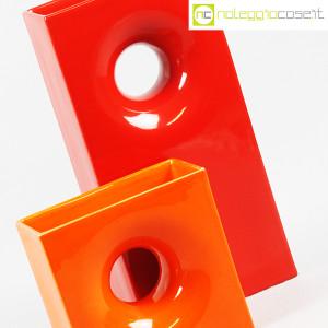 Gabbianelli, coppia vasi colorati con foro, Franco Bettonica (5)
