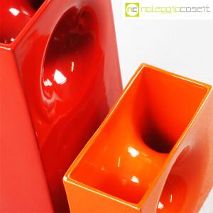 Gabbianelli, coppia vasi colorati con foro, Franco Bettonica (6)
