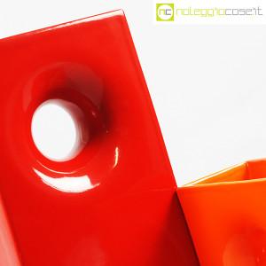 Gabbianelli, coppia vasi colorati con foro, Franco Bettonica (7)