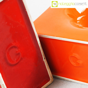 Gabbianelli, coppia vasi colorati con foro, Franco Bettonica (8)