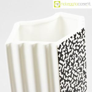 Mas Ceramiche, vaso bianco e nero in ceramica, Massimo Materassi (6)