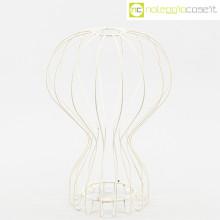Oggetto wireframe bianco (lampada Gatto)