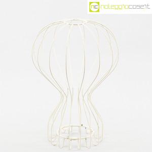 Oggetto wireframe bianco (struttura lampada Gatto) (1)