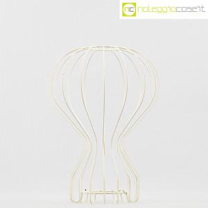 Oggetto wireframe bianco (struttura lampada Gatto) (2)