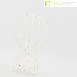 Oggetto wireframe bianco (struttura lampada Gatto) (3)