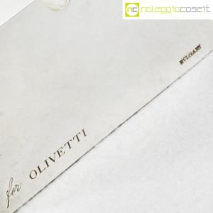 Olivetti (produzione Bulgari), posacenere in metallo cromato (9)