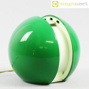R2S Monza, lampada Gea verde, Gianni Colombo (1)