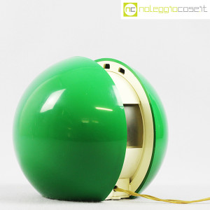 R2S Monza, lampada Gea verde, Gianni Colombo (3)