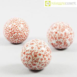 Sfere in ceramica, set rosso (1)