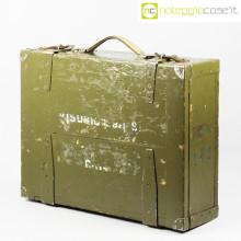 Cassa militare portaoggetti vintage
