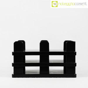 Olivetti, vaschette portadocumenti serie Synthesis nere, Ettore Sottsass (2)