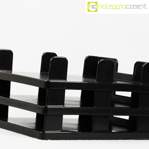 Olivetti, vaschette portadocumenti serie Synthesis nere, Ettore Sottsass (4)