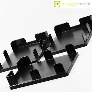 Olivetti, vaschette portadocumenti serie Synthesis nere, Ettore Sottsass (5)