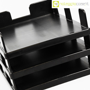 Olivetti, vaschette portadocumenti serie Synthesis nere, Ettore Sottsass (7)