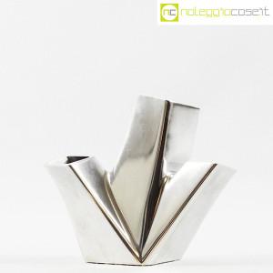 Alessi, vaso in metallo Trinava piccolo, Hani Rashid (2)
