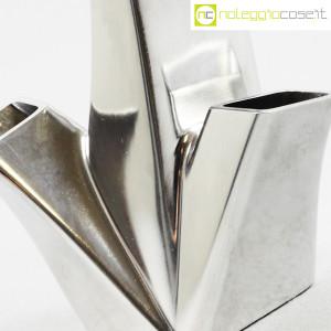 Alessi, vaso in metallo Trinava piccolo, Hani Rashid (5)
