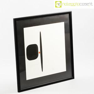 Bruno Munari, litografia serie Segnici (sfondo bianco) (2)