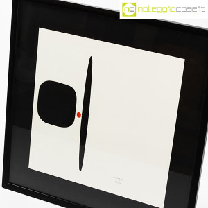 Bruno Munari, litografia serie Segnici (sfondo bianco) (4)
