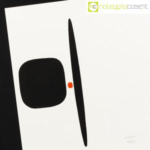 Bruno Munari, litografia serie Segnici (sfondo bianco) (5)