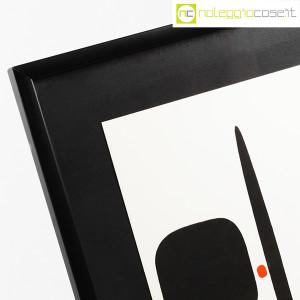 Bruno Munari, litografia serie Segnici (sfondo bianco) (6)