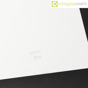 Bruno Munari, litografia serie Segnici (sfondo bianco) (8)