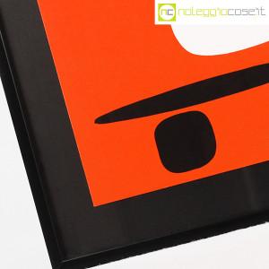 Bruno Munari, litografia serie Segnici (sfondo rosso) (6)