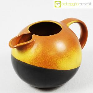 Ceramiche Bucci, brocca versatoio bicolore, Franco Bucci (2)