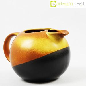 Ceramiche Bucci, brocca versatoio bicolore, Franco Bucci (3)