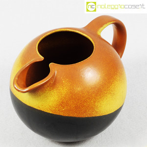 Ceramiche Bucci, brocca versatoio bicolore, Franco Bucci (4)