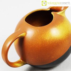 Ceramiche Bucci, brocca versatoio bicolore, Franco Bucci (6)
