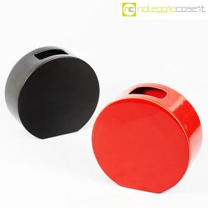 Ceramiche Franco Pozzi, vasi nero e rosso serie Strutture Primarie (1)