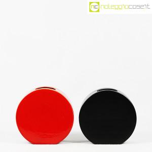 Ceramiche Franco Pozzi, vasi nero e rosso serie Strutture Primarie (2)