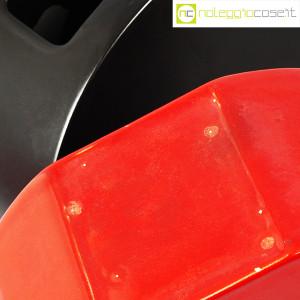 Ceramiche Franco Pozzi, vasi nero e rosso serie Strutture Primarie (8)