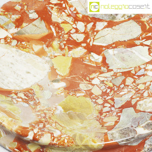Posacenere in marmo rosso a macchia (9)