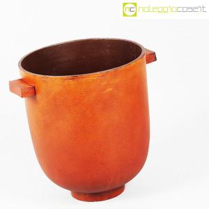Vaso in metallo color ruggine (3)