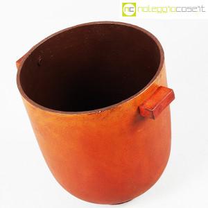 Vaso in metallo color ruggine (4)
