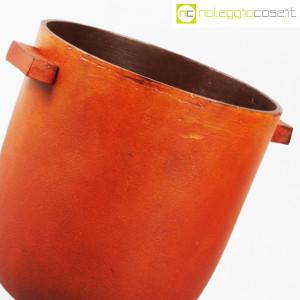 Vaso in metallo color ruggine (5)