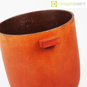 Vaso in metallo color ruggine (6)